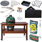 Big Green Egg Hiiligrilli Premium-paketti Large