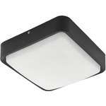 Eglo LED-Kattovalaisin Crosslink Piove-C 14W 250x250x80mm IP44 hopea
