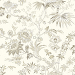 Origin Bloomingdale 326124 flowers beige non-woven tapetti