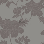 ALE! Origin Ouverture 345923 flowers harmaaruskea/pronssi non-woven tapetti