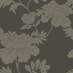 ALE! Origin Ouverture 345925 flowers ruskea non-woven tapetti