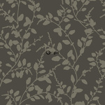 ALE! Origin Ouverture 345931 leaves ruskea non-woven tapetti