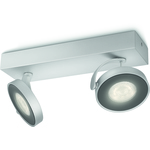 Philips myLiving Clockwork Spottivalaisin Alumiini 2X5W IP20