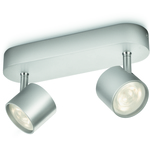 Valo-ALE! Philips myLiving Star Spottivalaisin Alumiini 2x4W LED IP20