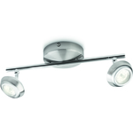 Philips myLiving Sepia Spottivalaisin Nikkeli 2x4W LED IP20