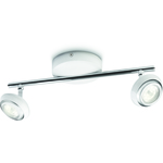 Valo-ALE! Philips myLiving Sepia Spottivalaisin Valkoinen 2x4W LED IP20