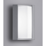 Trio Suez Sein�valaisin Harmaa IP54 LED
