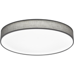 Trio LED-kattovalaisin Lugano Ø750x100 mm harmaa
